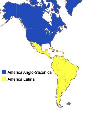 Regionalização cultural do continente americano
