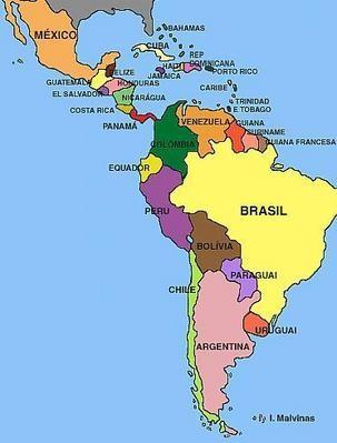 Conhea o continente americano