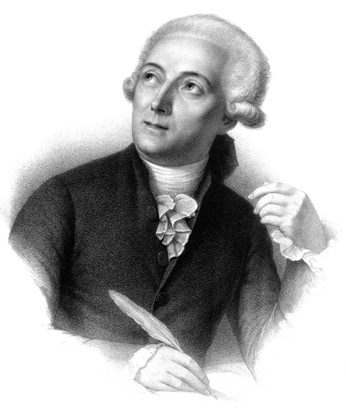 """Figura 1. Químico francês Antoine Laurent Lavoisier """"pai da química"""". (1743-1794)"""
