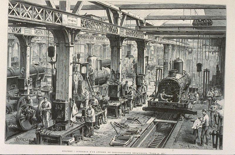 Locomotiva/ Imagem: Armand Kohl / Domínio Público