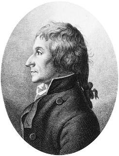 Figura 2. Químico e farmacêutico Joseph Louis Proust (1754-1826)