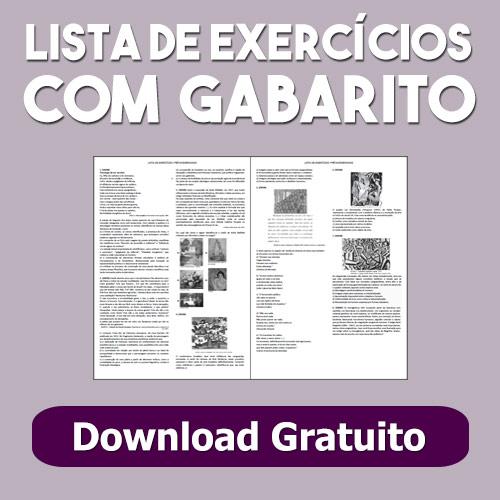 Listas de Exercícios com Gabarito Enem e Vestibular