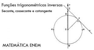 Funções trigonométricas inversas