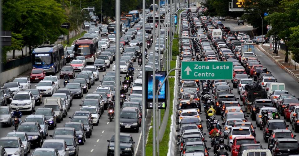 Mobilidade Urbana - Congestionamento em São Paulo
