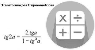 transformações trigonométricas