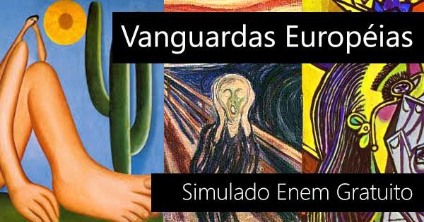 Simulado Enem sobre as Vanguardas Europeias