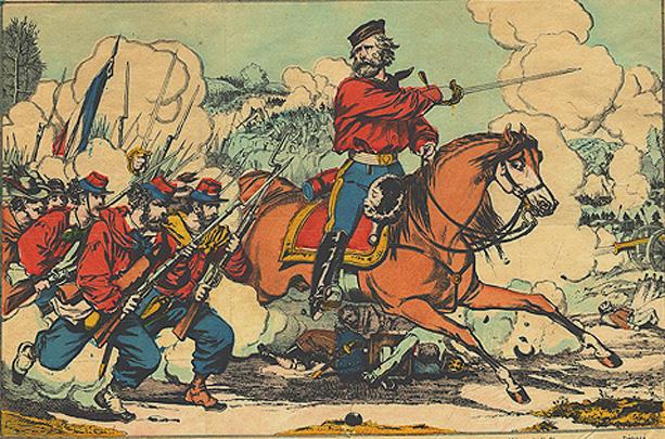 Garibaldi na guerra pela Unificação da Itália