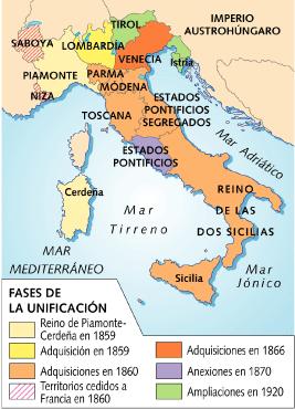 """Após a Unificação da Itália criou-se o """"mapa da bota"""""""