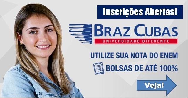 Bolsa de Estudos pela Nota do Enem Universidade Braz Cubas