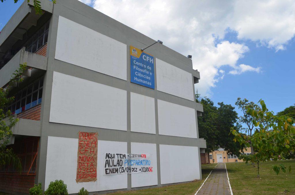 Centro de Filosofia e Ciências Humanas (CFH) da UFSC.