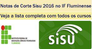 notas de corte sisu 2016 no iffluminense