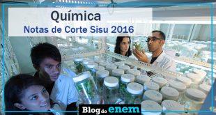 notas de corte sisu 2016 para quimica