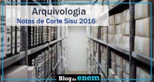 notas de corte sisu 2016 para arquivologia