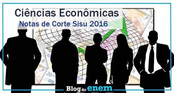 notas de corte sisu 2016 para ciencias economicas
