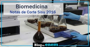 notas de corte sisu 2016 para biomedicina