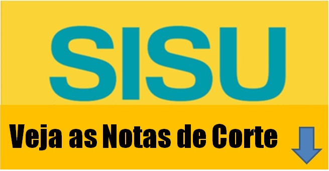As notas de corte do Sisu