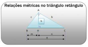relações métricas