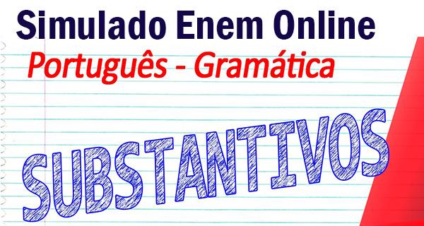 Revisão Para O I Simulado Enem: Simulado Enem Online De Gramática Com 10