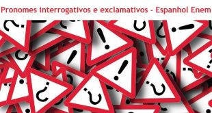 Pronomes interrogativos e exclamativos
