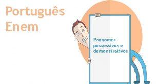 pronomes possessivos e demonstrativos