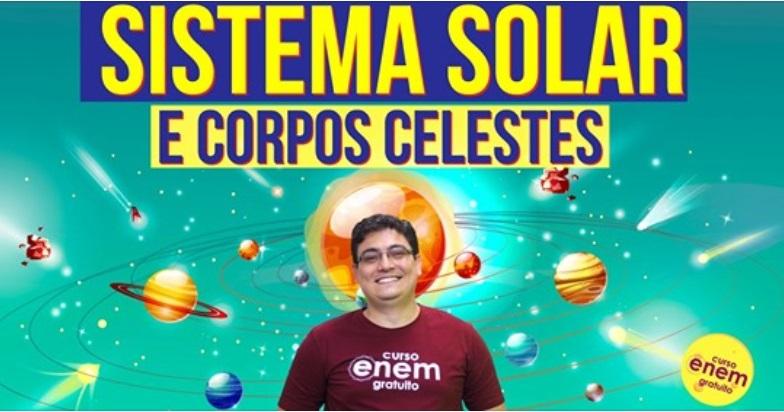 O Sistema Solar e os corpos celestes