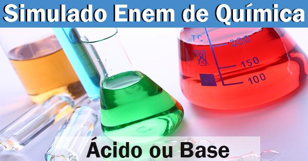 Simulado Enem de Química