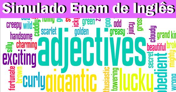 Adjetivos em Inglês