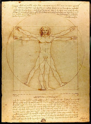 Homem Vitruviano - Renascimento