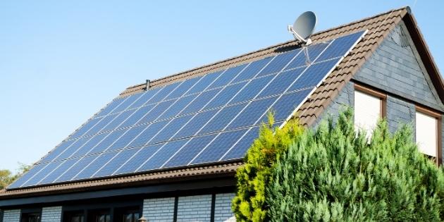 Transformação de energia solar em elétrica