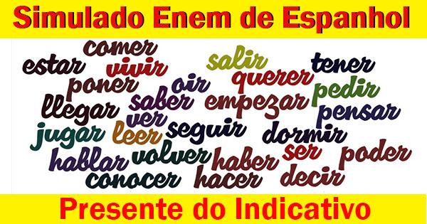 Presente do Indicativo - Espanhol