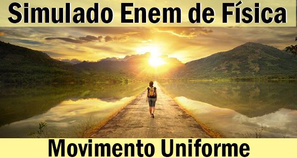 Movimento  Retilíneo Uniforme