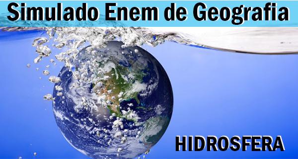 Resumo com simulado de Hidrosfera