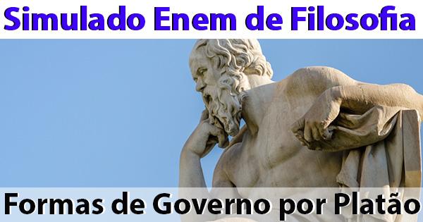 Platão e as Formas de governo