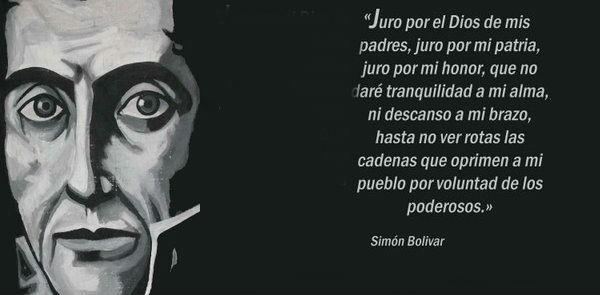 Simón Bolivar - Revolução Bolivariana