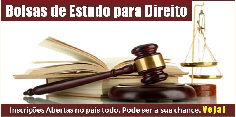 Bolsas de estudo para Direito