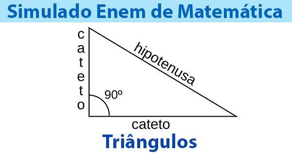 Simulado Enem Triângulos