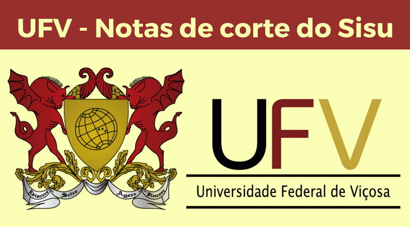 notas de corte Sisu 2019 na UFV