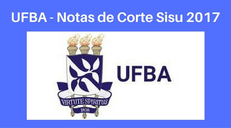 Notas de Corte do Enem na UFBA