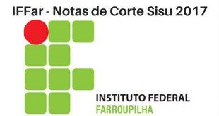 Notas de Corte do Enem no IFFar