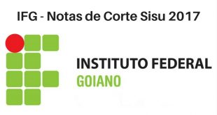 Notas de Corte do Enem no IFG