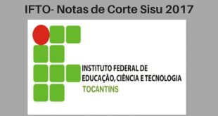 Notas de Corte do Enem no IFTO