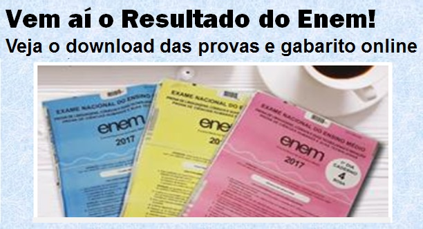download prova enem 2018
