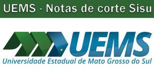 Notas de corte Sisu 2018 na UEMS