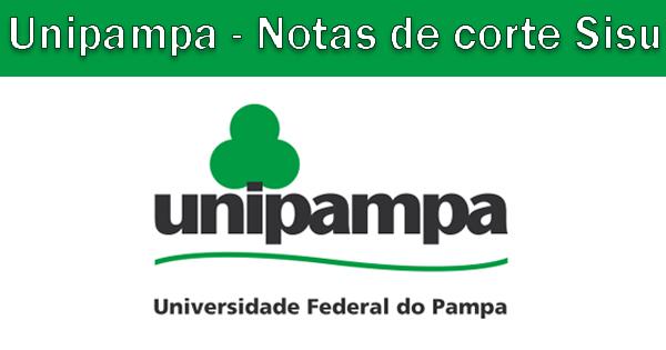 Notas de corte Sisu 2019 na Unipampa