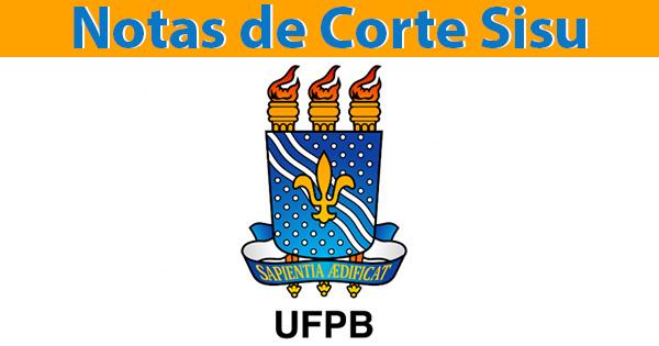 notas de corte sisu 2019 na UFPB
