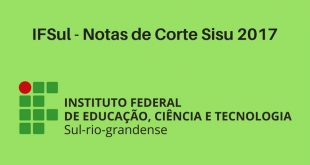 Notas de Corte do Enem no IFSul