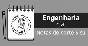 Notas de corte Sisu 2018 para Engenharia Civil