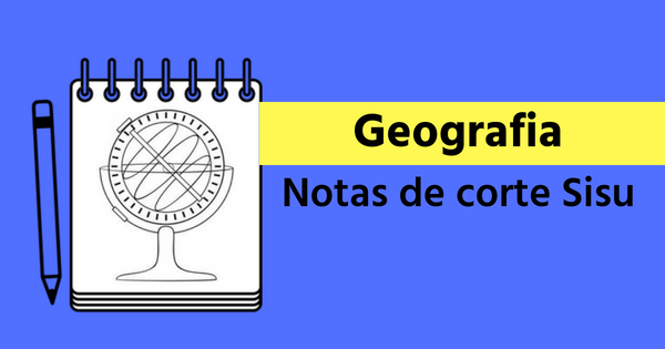notas de corte de geografia