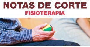 Notas de Corte do Sisu para Fisioterapia