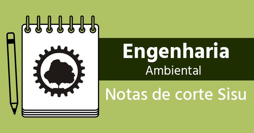 notas de corte Engenharia Ambiental no Sisu 2020